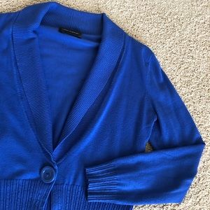 Cable & Gauge One Button Fitted Cardigan